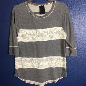 Anthropologie T-Shirt by Dolan Women Top Sz S